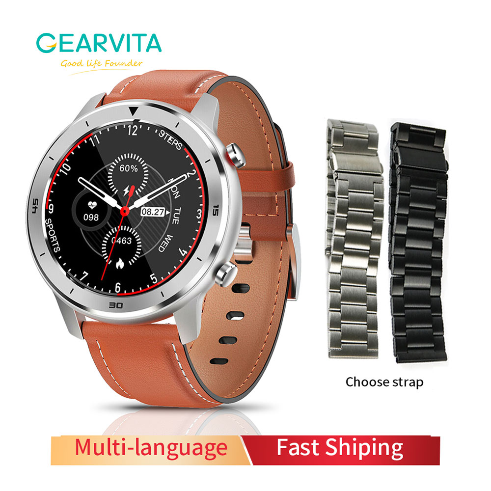 Gearvita DT78 Smart Watch IP68 1 3inch Men Women Sport watch Running track call reminder heart rate bluetooth smartwatch