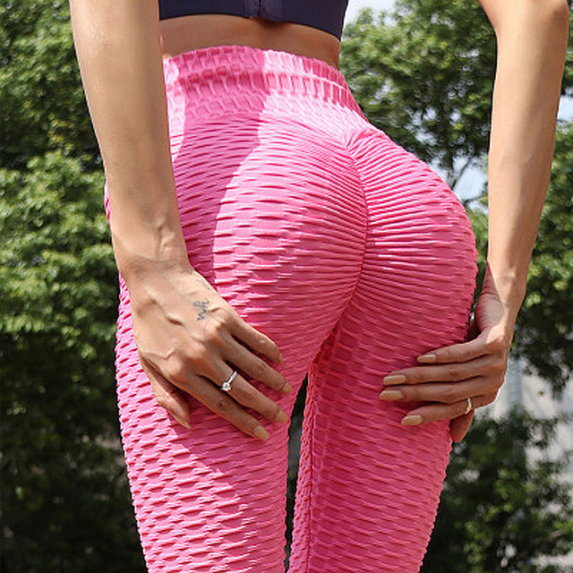 Scrunch Back Winter Fitness Leggings Hips Up Booty Workout Pants Womens Gym Activewear For Fitness High Waist Long Pant Warm 3