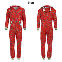 Christmas Family Matching Hooded Jumper Pajamas