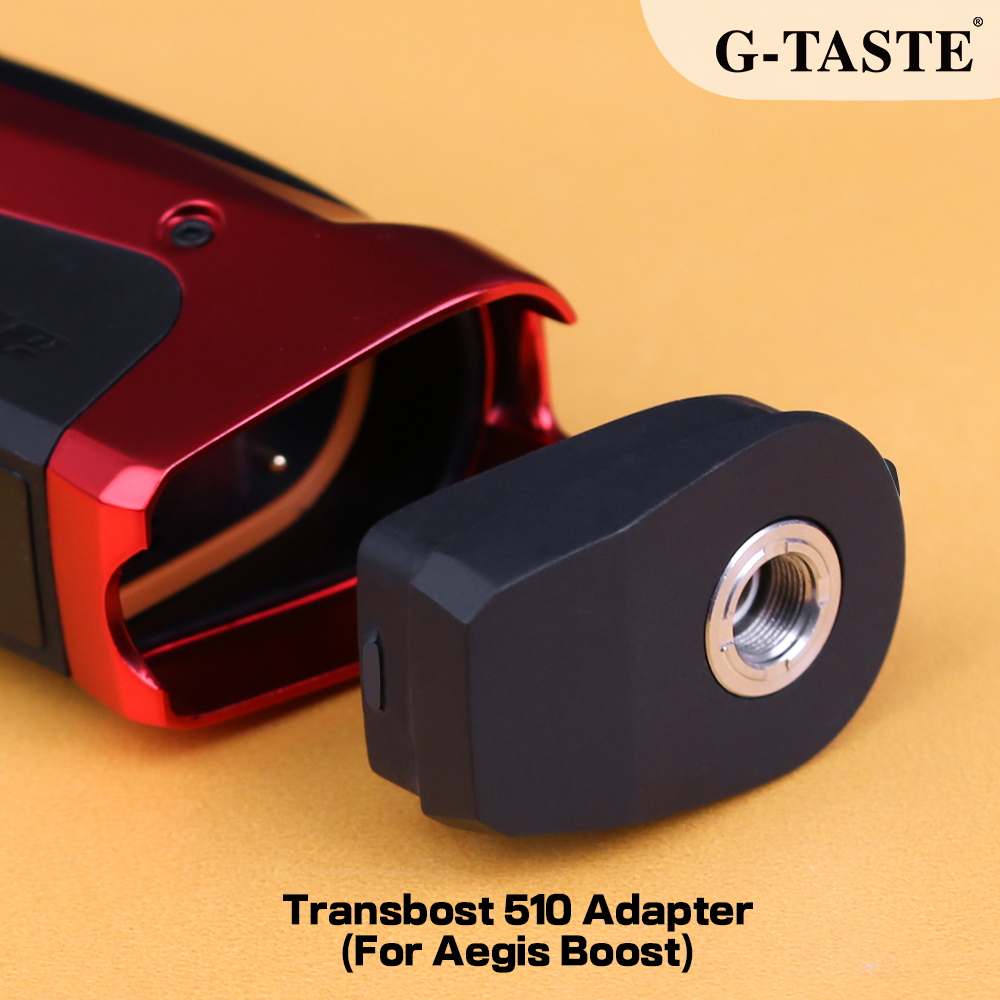 G-taste Transbost 510 Adapter Electronic Cigarette Replacement 510 Thread Connector For Geekvape Aegis Boost Pod Kit