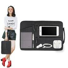 Upgraded handbag for Macbook Air Retina Pro 12 13 15 Laptop Bag for Lenovo HP Unisex Sleeve for Xiaomi Nylon Pouch Notebook Case