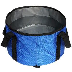 Портативный складной умывальник для путешествий мешок для стирки белья