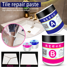 Toilet Repair-Paste Bathroom-Sink Floor Ceramic Multipurpose TE889 Newly 2pcs/Set