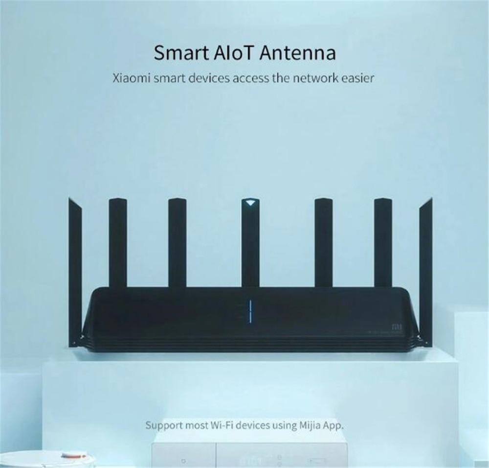 NEW Xiaomi AX3600 AIoT Router Wifi 6 5G Wifi6 600Mb Dual-Band 2976Mbs Gigabit Rate Qualcomm A53 External Signal Amplifier (14)