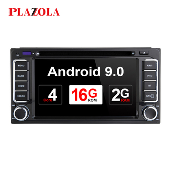 AutoRadio 2 din Android 9.0 Car DVD Player For Toyota Land Cruiser 100 200 Corolla 150 RAV4 Hilux Prado 120 Yaris Camry 4 Runner image