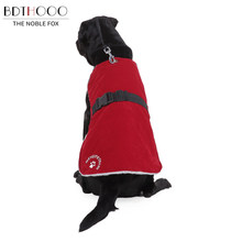 Bdthooo Warme Winter Hondenkleding Pet Coat Jacket Puppy Hond Kleding Vest Comfortabel Fleece Voor Kleine Medium Grote Grote Honden(China)