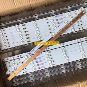 Image 4 - Tira de LED para iluminación trasera para LB49016 V1_00 GJ 2K16 490 D712 P5 R/L 01N21 01N22 TPT490U2 49PUS6401 49PUH6101 49PUS6762 49PUS6272, 14 Uds.