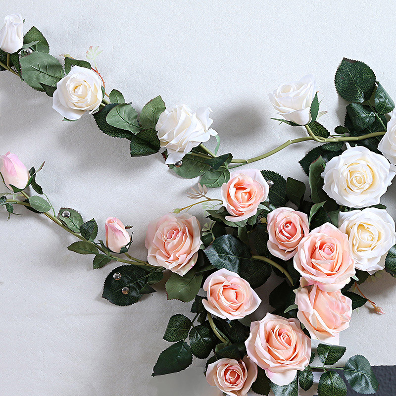artificial rose flower Vines
