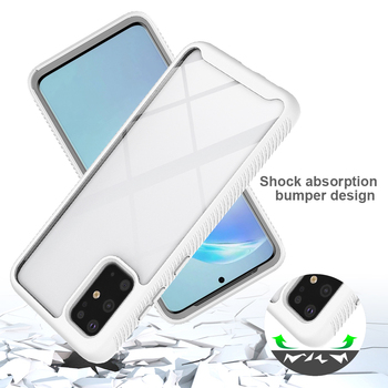 Shockproof Case For Samsung Galaxy S20 Ultra Plus Note 10 S10 Lite S9 S10e S 10 5G Hybrid Armor TPU Bumper Hard Back Phone Cover s style protective tpu back case for samsung galaxy note 3 n9000 white