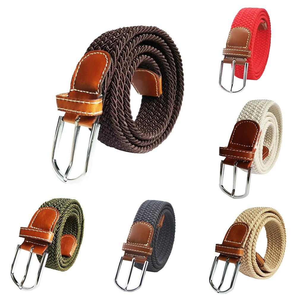 Adjustable Unisex Canvas Military Waist Belt Combat StrapsTactical Outdoor Belt
