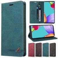 Custodia a portafoglio in pelle per Samsung Galaxy A82 A72 A71 A70 A52 A51 A50 A41 A32 A31 A21 A20E A12 A11 A10 A02S A01 Cover per telefono