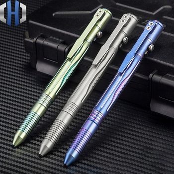 цены Titanium Alloy Tactical Pen Tungsten Steel Multi-function Self-defense Attack Pen
