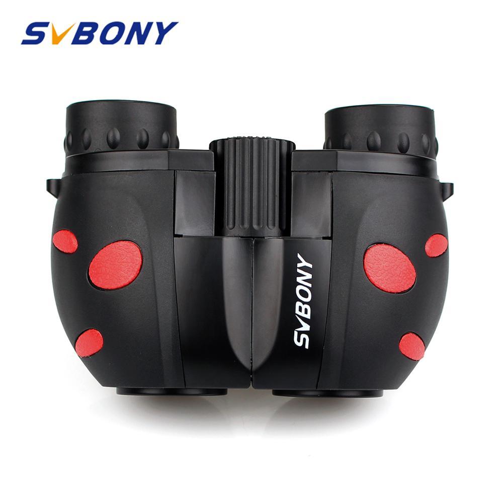 svbony criancas binoculos 8x21professional telescopio protecao visao ambientalmente amigavel material observacao ao ar livre