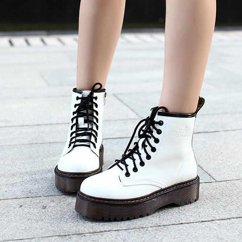 2019 neue Einfache Frauen schuhe Damen Low heels Regen stiefel Damen Warme Kreuz-gebunden Vintage Schuhe Frauen mit Knöchel winter Stiefel
