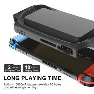 Image 5 - Switch מתג NS מגן מעטפת חזרה קליפ סוללה נייד סוללה מטען מקרה נייד כוח אספקת הכרחי עבור נסיעות נייד