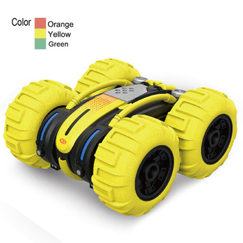 New Remote Control Amphibious Dump Truck Double-sided Driving Car Off-road Vehicle Multi-function Toy Remote Control Car Wltoys