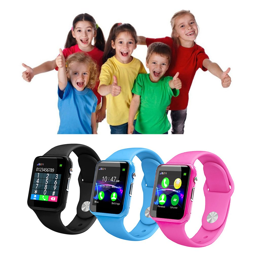 New Y31 Kids Safe Watch Anti Lost Child GPRS Tracker SOS Positioning Tracking Smart Phone Birthday Gifts For Girls Boys in Smart Watches from Consumer Electronics