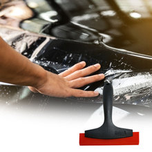 4PCS Glass And Tile Scraper With Soft Grip Car Window Squeegee Scraper Shovels Car Vinyl Film Sticker Wrapping Clean Tint Tool