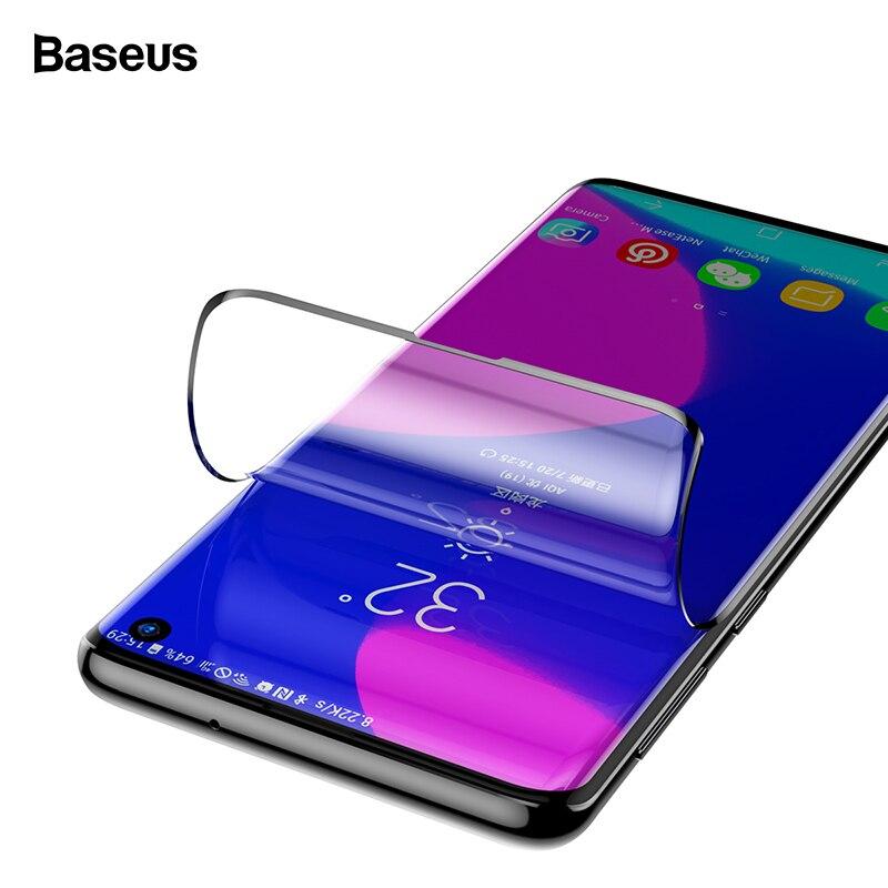 Protecteur d'écran 2 pièces Baseus pour Samsung Galaxy S10 Plus Film de protection avant en verre trempé pour Samsung S10 S 10 S10plus