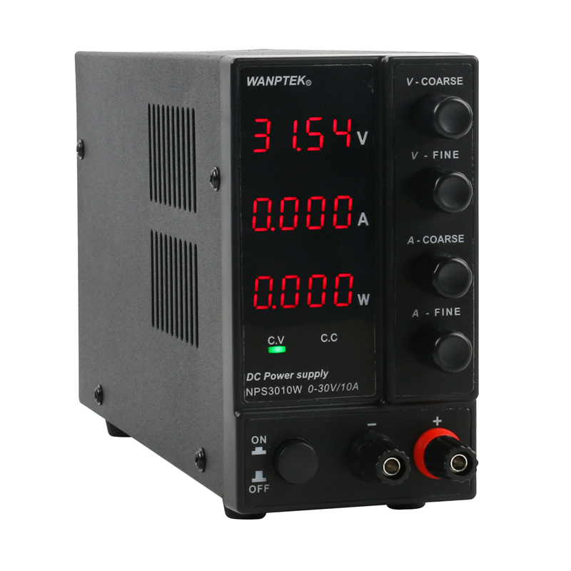 NPS 3010W 306W 605W 1203W Mini Switching Regulated Adjustable DC Power Supply Power Display 30V 60V 120V 6A 10A 0.1V 0.01A 0.01W-4
