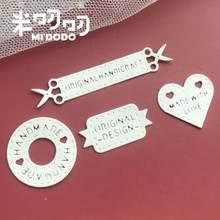 Handmade Mark Lable Metal Cutting Dies 2020 For Scrapbooking DIY Paper/photo Cards Midodo New Design Dies