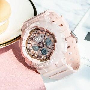 Image 2 - Reloj Casio baby g relojes para mujer relojes de marca de lujo reloj de pulsera digital Reloj cronógrafo a prueba de agua reloj militar relojes de cuarzo para mujer reloj deportivo de cuarzo para mujer часы наручные