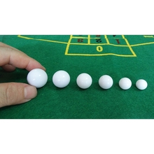 5pcs Russian Roulette Ball Casino Roulette Game Replacement Ball Acrylic Ball W0YB