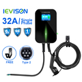 32A 1 Phase EV Charger Wallmount Electric Vehicle Charging Station EVSE Wallbox with Type 2 Cable IEC 62196-2 for Mercedes-Benz