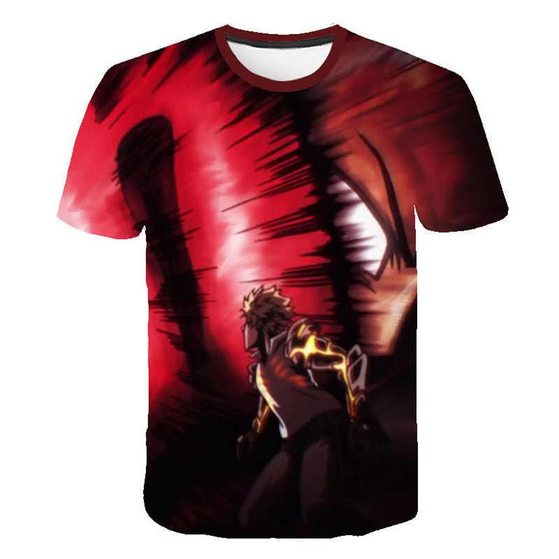 חדש אופנה אחת אגרוף גבר חולצה נים אנימה אחת-אגרוף איש T חולצה 3D קריקטורה גברים חולצה גנוס בסאיטמה קוספליי קיץ tshirts