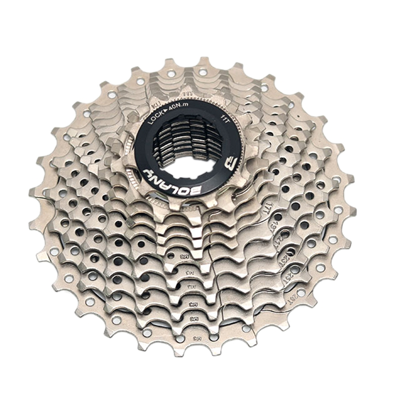 New Bolany Road Bike <font><b>11</b></font> Speed <font><b>11</b></font>-28T Freewheel Bicycle <font><b>Cassette</b></font> Flywheel Sprocket Compatible Parts image