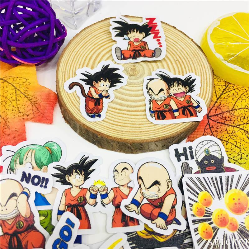 39 Pcs Creative Cartoon Character Sticker Scrapbooking Stickers Decorative DIY Craft Photo Albums Waterproof Kids Toys