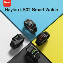 Nouvelle montre intelligente Haylou LS02 Version anglaise, étanche IP68, 12 Modes Sport, rappel d'appel, bracelet intelligent Bluetooth 5.0(China)