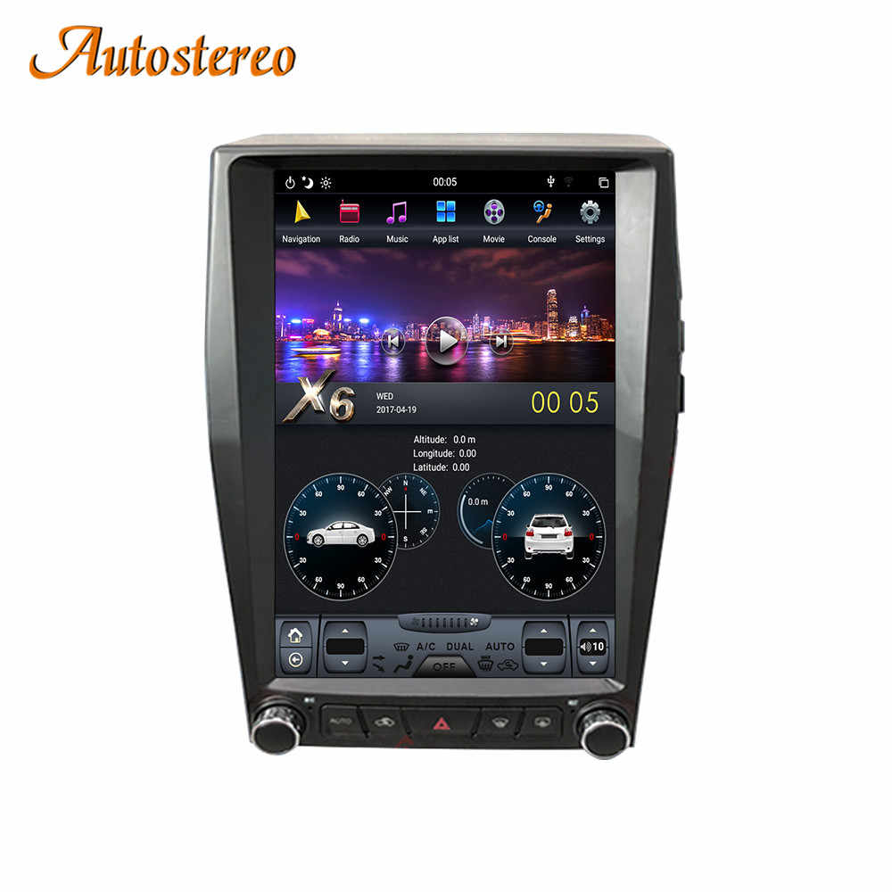 Verticale Screen Android 9 4 + 64G Auto Gps Navigatie Voor Ford Edge 2015-2019 Stereo Head Unit multimedia Speler Auto Radio Carplay