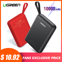 Ugreen Power Bank for Xiaomi Mini Pover 10000mAh Portable External Phone Battery Charger iPhone X Huawei P20 PoverBank