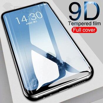 Перейти на Алиэкспресс и купить 9D закаленное стекло для Meizu X8 V8 M8 M8C M8 Lite 16 16T 16X16 S 16XS Note 8 9 защитная пленка на весь экран