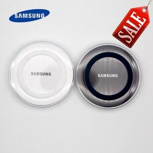 Image 1 - Samsung Galaxy S6 Qi Wireless Charger 5V/2Aชาร์จอะแดปเตอร์สำหรับS7 Edge S10e S10 S9 S8 Plusหมายเหตุ5 8 9 Iphone 8 Plus X XS X Mi9