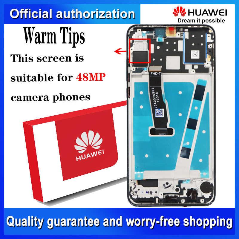 Ban Đầu 2312*1080 Màn Hình Thay Thế Cho Huawei P30 Lite Nova 4E Màn Hình Cảm Ứng LCD Bộ Số Hóa MAR-LX1 LX2 AL01