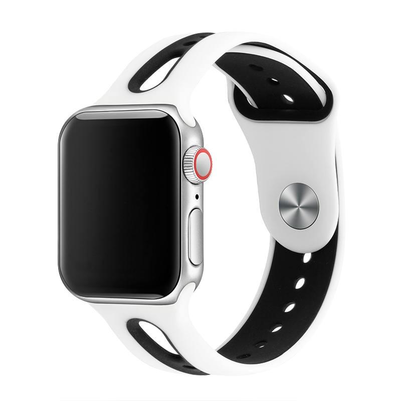 Силиконовый ремешок для наручных часов Apple Watch, ремешок 42 мм, 38 мм, Версия 44 мм 40 мм ремень резиновый наручных часов Iwatch, ленты для наручных часов Apple Watch браслет Series4/3/2/1 81003 Ремешки для часов      АлиЭкспресс