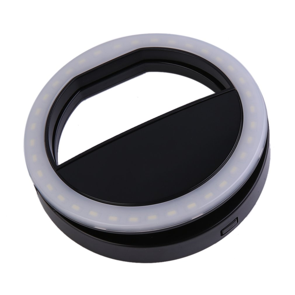Mobile Phone Selfie Light Clip-On LED Ring Flash Light Camera Photography Phone Light For Iphone Samsung 3 Modes 36LEDs