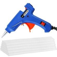 Glue-Gun Guns Heat-Temperature-Tool Electric Hot-Melt Industrial with 30pc 7mm--200mm