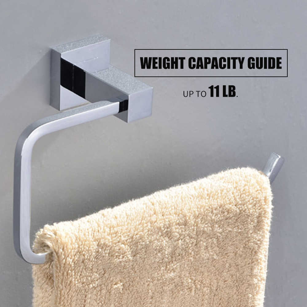 Wall Mounted Paper Towel Holder Towel Rack Clothes Hooks Stainless Steel Toilet Roll Holder Bathroom Towel Shelf Paper Hanger