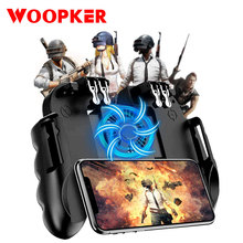 Mobile Game Controller for iPhone PUBG iOS Android Gaming Trigger Joystick Gamepad