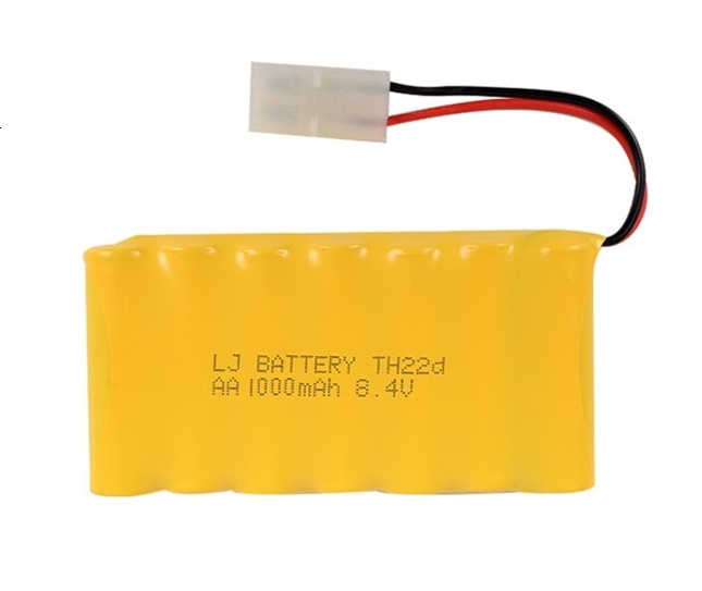 Upgrade 8.4v 1000mah NiCD Battery For Rc Toys Cars Tanks Trucks Robots Guns Boats AA Ni-CD 8.4v Rechargeable Battery Pack 1pcs
