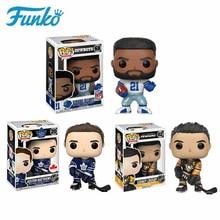 Funko Hockey Star NHL Sidney Crosby Auston Matthews Rugby Star Ezekiel Vinyl Action Figure Toys Birthday Gift Collectible Model