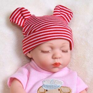 35 см летние спящие Детские куклы Reborn полностью силиконовые водонепроницаемые куклы Reborn babay реалистичные настоящие детские игрушки для девочек детский подарок