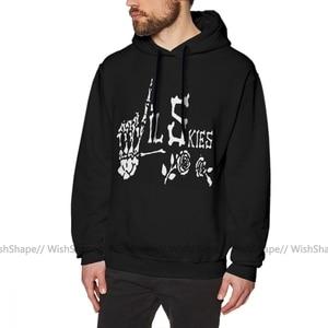 Image 1 - Lil Skies Hoodie Lil Skies Hoodies Long Length Warm Pullover Hoodie Male Cool Black Loose Oversize Cotton Hoodies