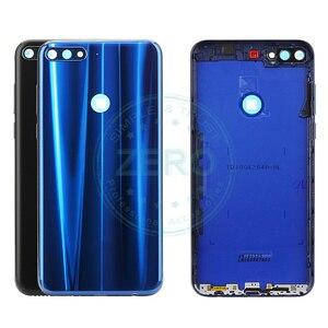 Image 1 - Orijinal Huawei Y7 başbakan 2018 arka pil kapağı arka konut Huawei Nova 2 Lite için pil kapı yedek yedek parçaları