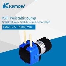 كاموير KXF 6 فولت/12 فولت/24 فولت مضخة مياه تمعجية صغيرة مع موتور تيار مباشر وحجم صغير دعم فتيلة الذاتي