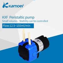 Kamoer KXF 6V/12V/24V Mini Peristaltic Water Pump  With DC Motor and Small Size Support Self Priming