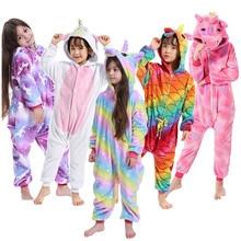 Комбинезон для мальчиков с тигром, единорогом и животными; одежда для сна для маленьких девочек; Детский карнавальный костюм с животными; Детские ползунки «панда»; пижамы